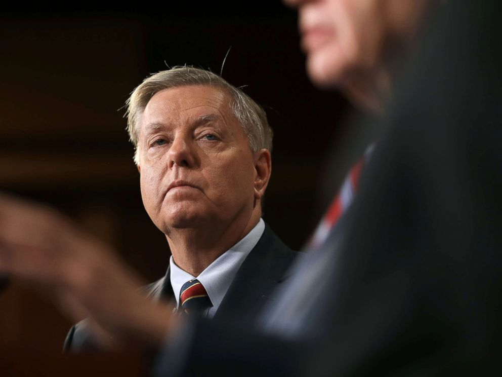 Trump threatens to destroy Turkey's economy once it launches a major operation in Syria Lindsey-graham-syria-gty-ps-181220_hpMain_4x3_992