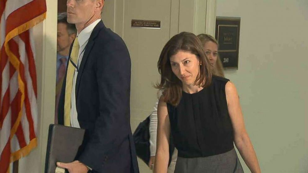 Former FBI Lawyer Lisa Page Returns To Capitol For Second