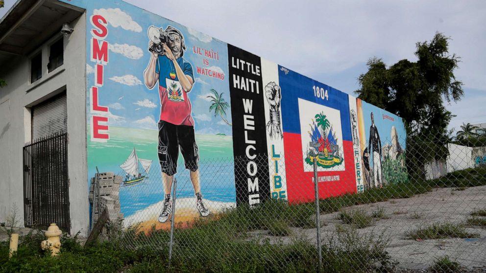 Desillusioniert Haitianischen amerikanischen Wähler nicht sicher über Trumpf