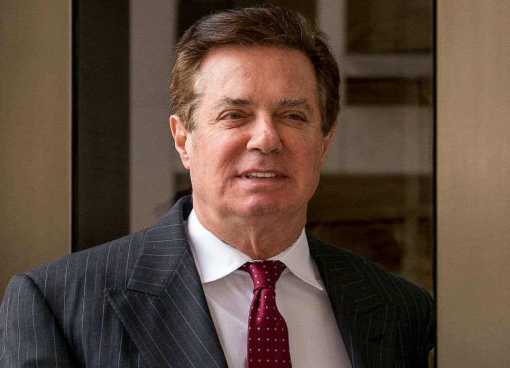Paul Manafort, President Donald Trump's former campaign chairman, leaves the federal courthouse in Washington, D.C., April 4, 2018.