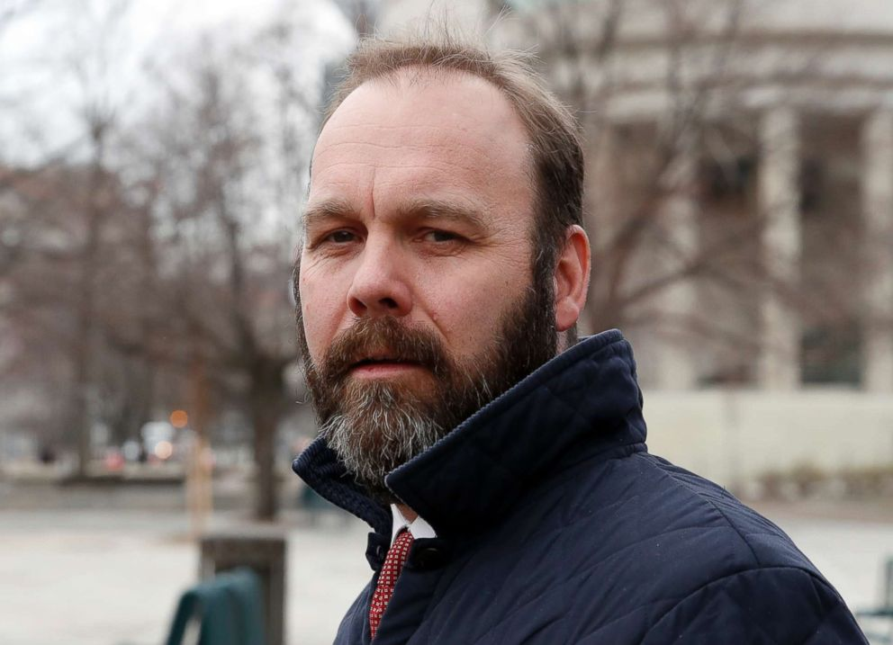 PHOTO: Rick Gates, business associate of Paul Manafort, departs Federal District Court, Feb. 14, 2018, in Washington, D.C.