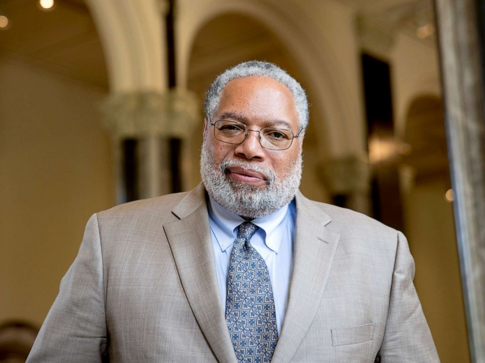 PHOTO: Lonnie Bunch, founding director of the Smithsonians National Museum of African American History and Culture, poses for a photograph at the Smithsonian Castle in Washington, May 28, 2019.