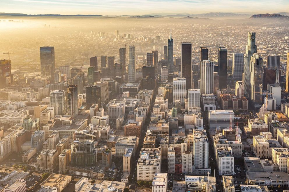 PHOTO: Downtown Los Angeles in an undated stock photo.