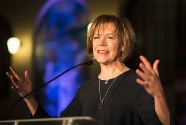 PHOTO: In this Jan. 10, 2015 file photo, Minnesota Democratic Lt. Gov. Tina Smith speaks to attendees at the North Star Ball in St. Paul, Minn.