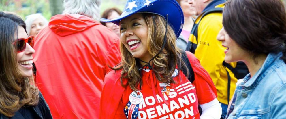 PHOTO: Before deciding to run for office Lucia McBath was in charge of outreach to faith communities for Moms Demand Action.