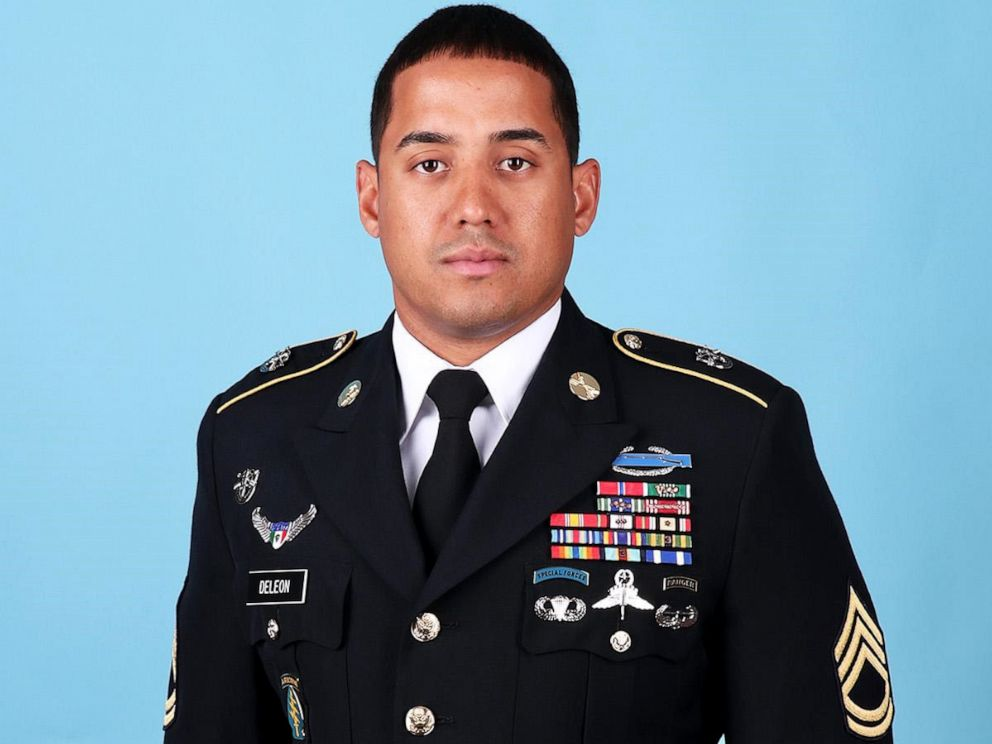 PHOTO: Master Sgt. Luis F. Deleon-Figueroa, 31, of the 7th Special Forces Group (Airborne) was killed Aug. 21, during combat operations in Faryab Province, Afghanistan.