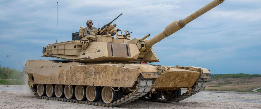 PHOTO: Soldiers assigned to Companies A and B, 1st Battalion, 145th Armored Regiment conduct live-fire training at Fort Knox, Ky., April 24, 2019.