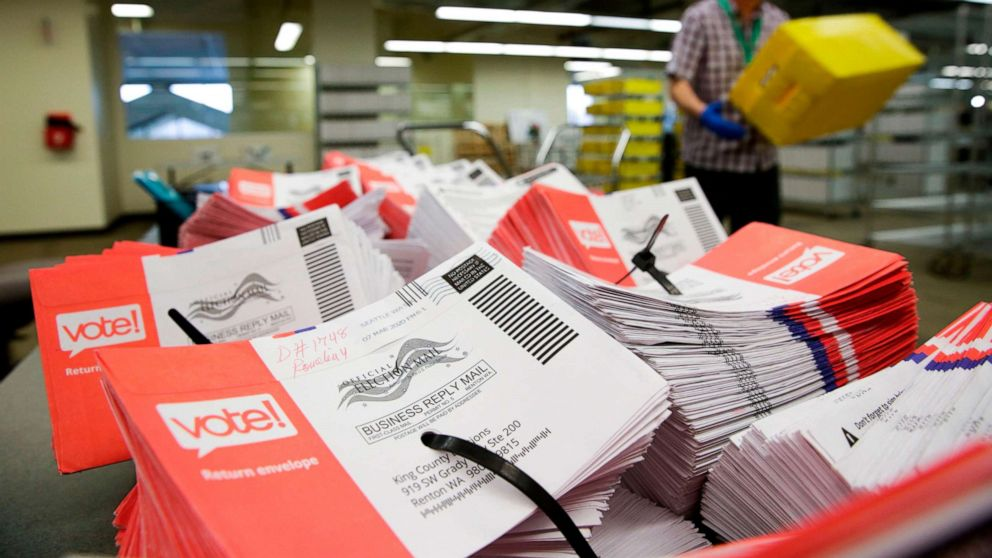 The vote by mail fault lines that could define November's election