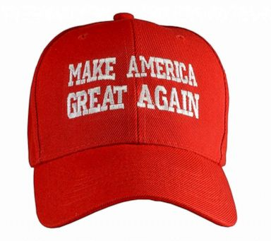PHOTO  Make America Great Again hat produced by Incrediblegifts who say the  price could double 341cc514b3b