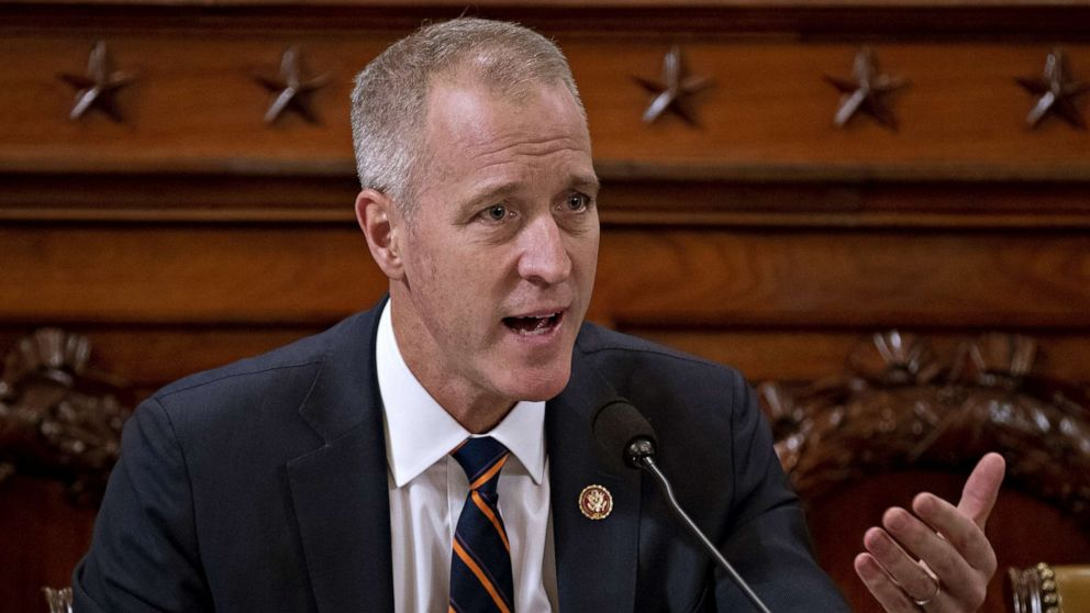 PHOTO: Rep. Sean Patrick Maloney questions witnesses during a House Intelligence Committee impeachment inquiry hearing in Washington, Nov. 21, 2019.
