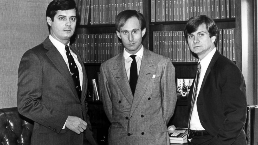 Paul Manafort, Roger Stone and Lee Atwater are young political operatives who have set up lobbying firms.