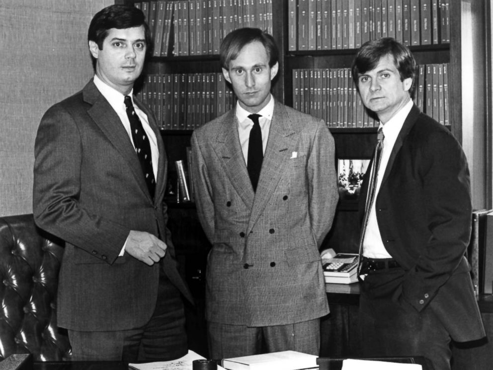 PHOTO: Paul Manafort, Roger Stone and Lee Atwater are young political operatives who have set up lobbying firms.