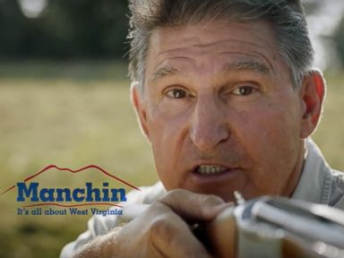 PHOTO: Joe Manchin is seen in this political ad.