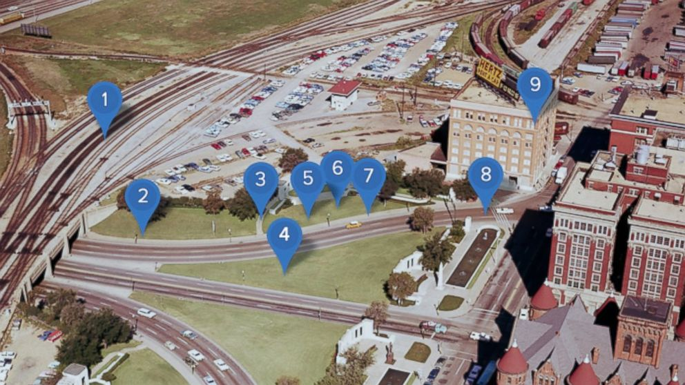 dealey plaza dallas map Dealey Plaza Site Of The Jfk Assassination Interactive dealey plaza dallas map