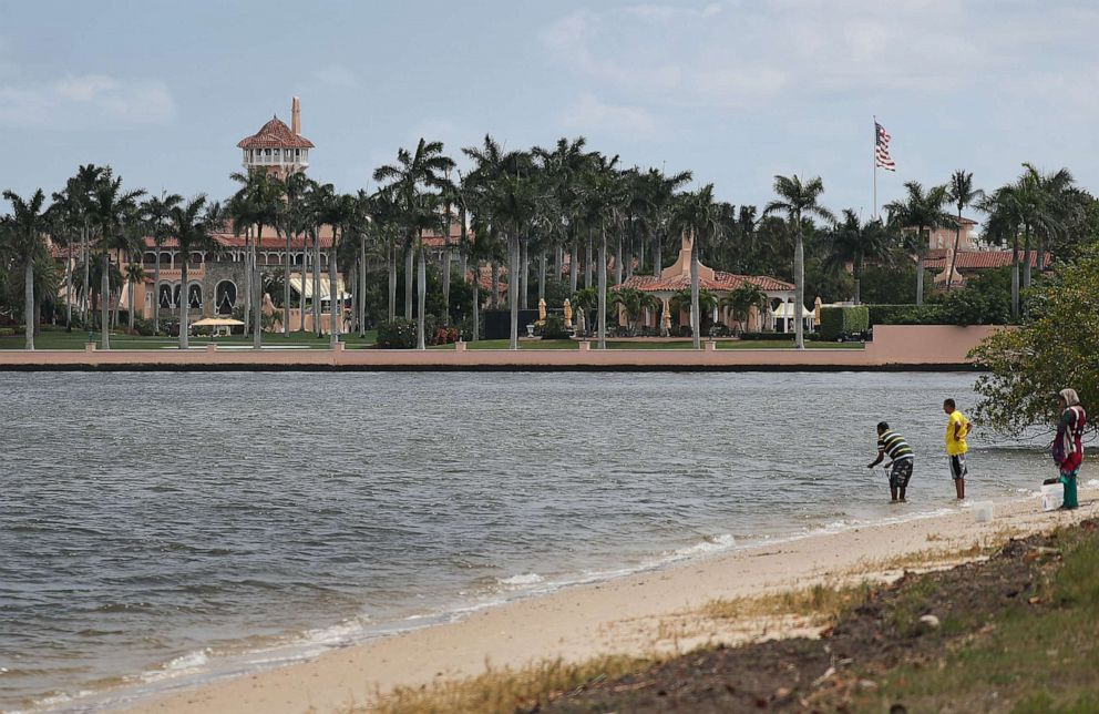 PHOTO: President Donald Trumps Mar-a-Lago resort is seen on April 03, 2019, in West Palm Beach, Fla.