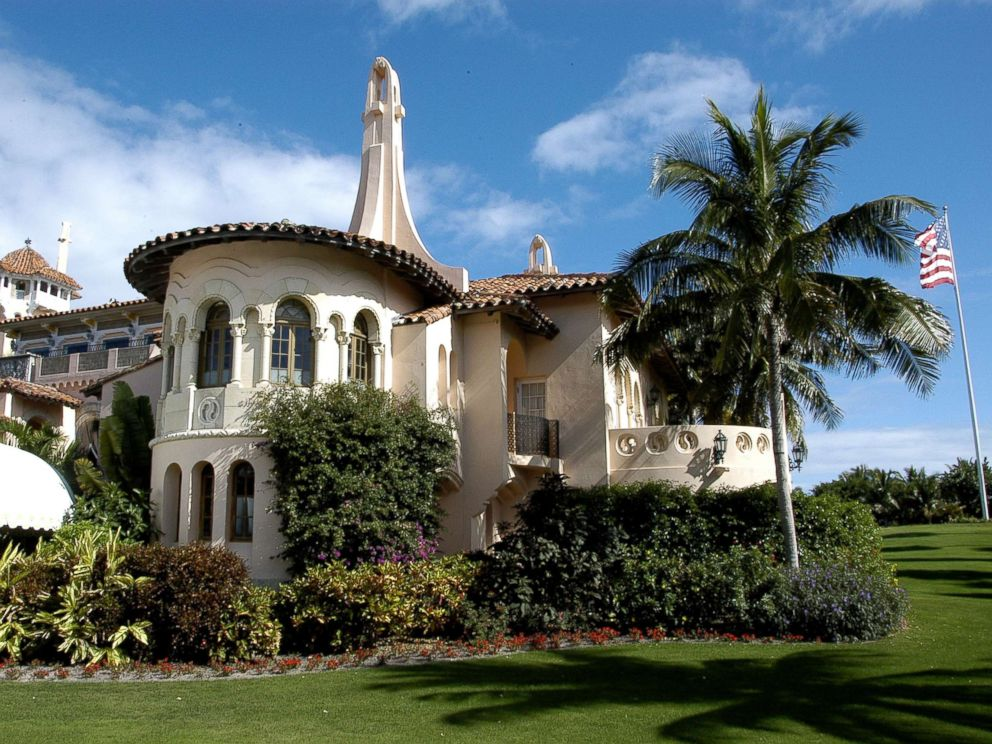 PHOTO: Exterior view of the south side of the Mar-a-Lago estate, Palm Beach, Fla., Jan. 9, 2008.