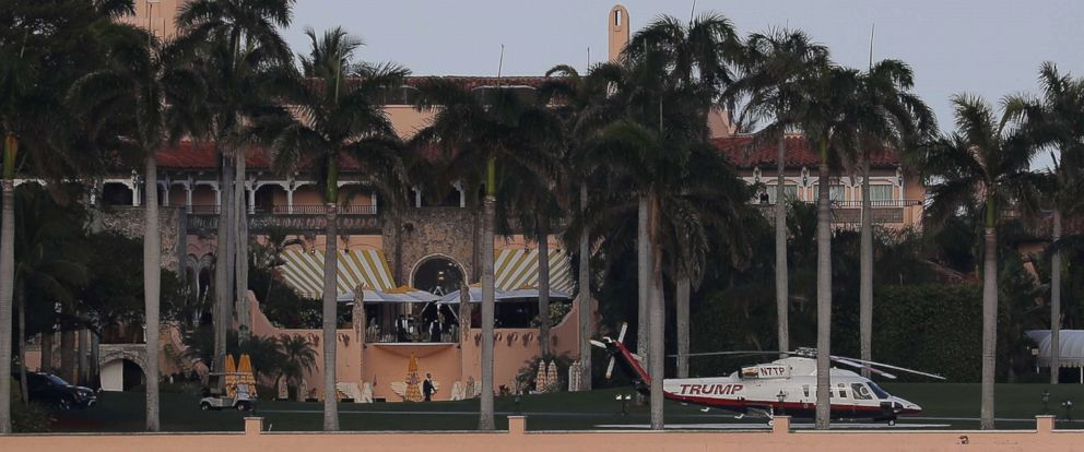 PHOTO: The exterior of the Mar-a-Lago Resort is pictured in Palm Beach, Fla., April 8, 2017.