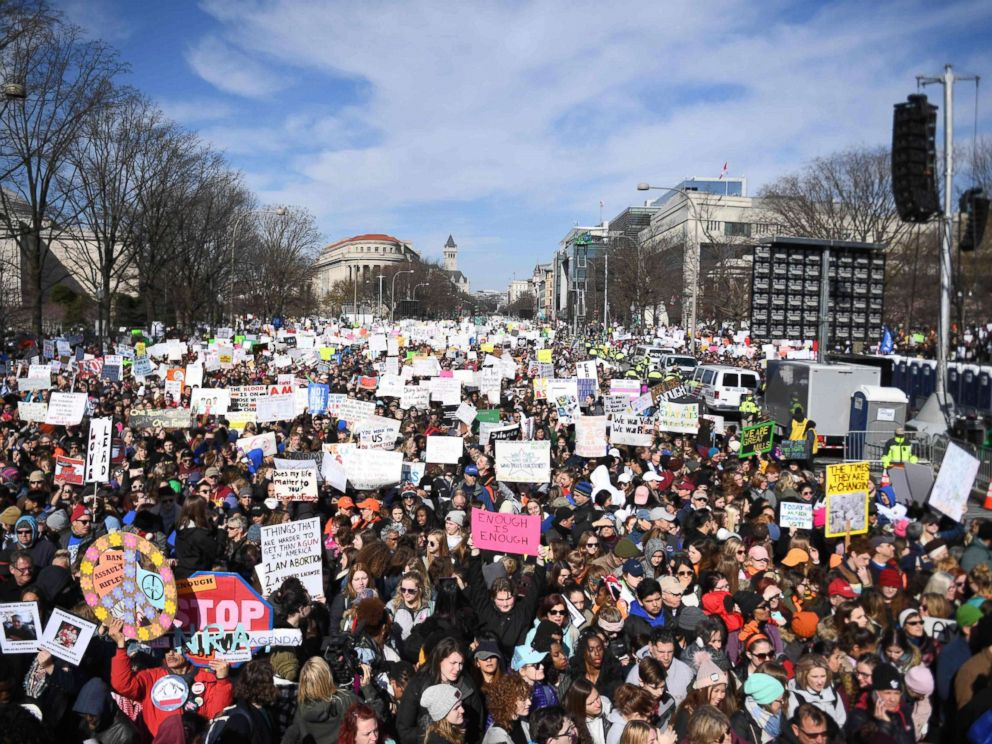 Jim Watson  AFP  Getty Images FILEParticipants arrive for the March for Our Lives Rally in Washington D.C