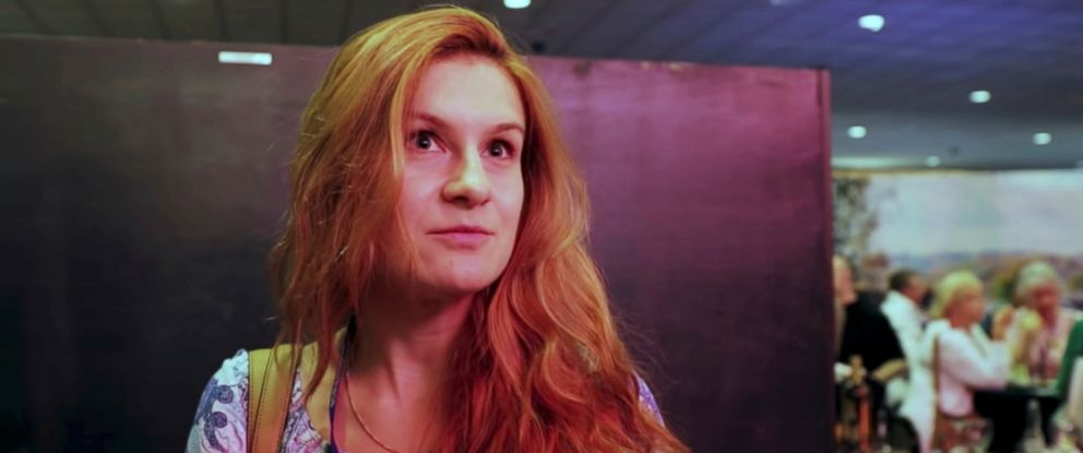 PHOTO: Maria Butina is pictured at the 2015 FreedomFest conference in Las Vegas, Nevada, July 11, 2015.