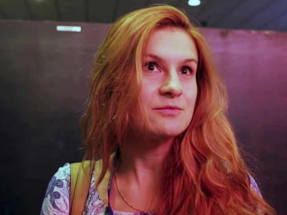 Alleged foreign agent Butina says Russian billionaire was 'actually just a friend'