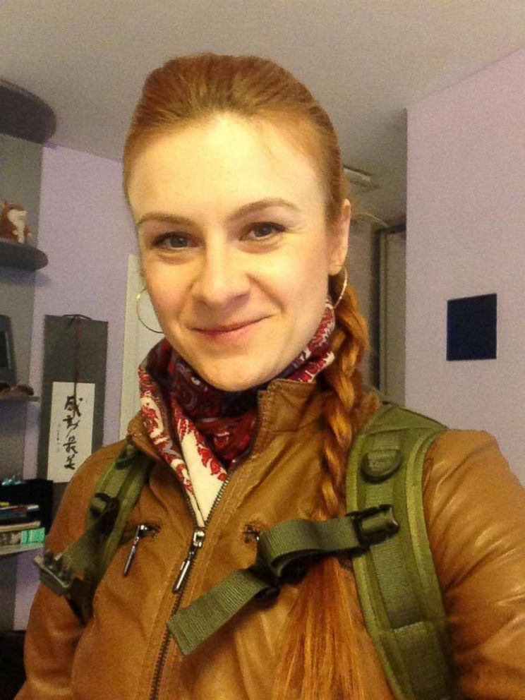PHOTO: Maria Butina appears in an undated photo from her Twitter account obtained July 19, 2018