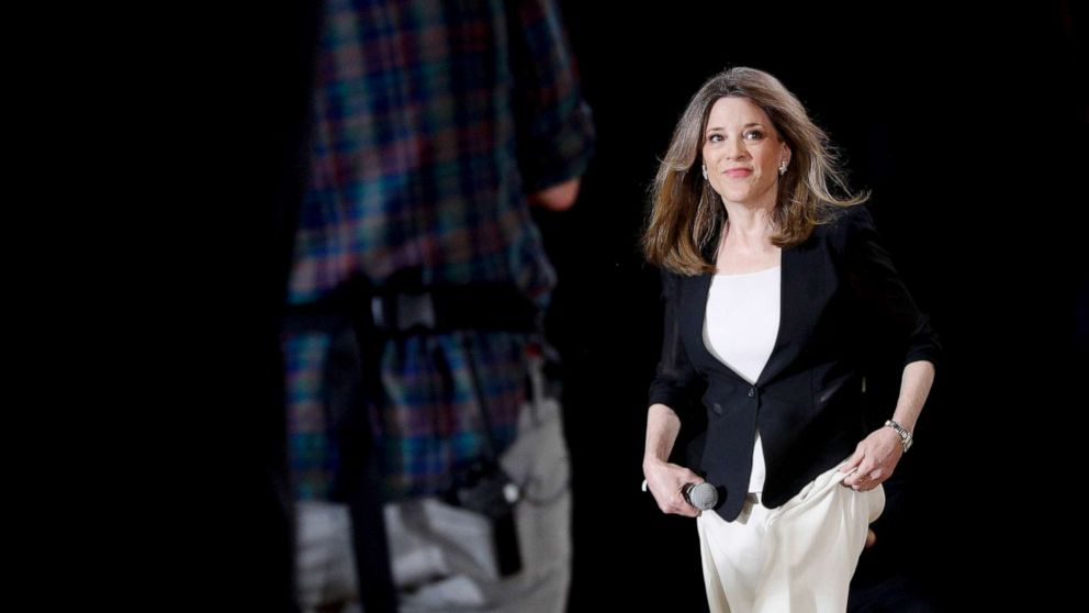 Democratic presidential candidate Marianne Williamson makes push for reparations thumbnail