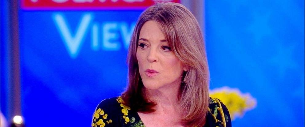 "PHOTO: Marianne Williamson appears on ""The View,"" June 20, 2019."