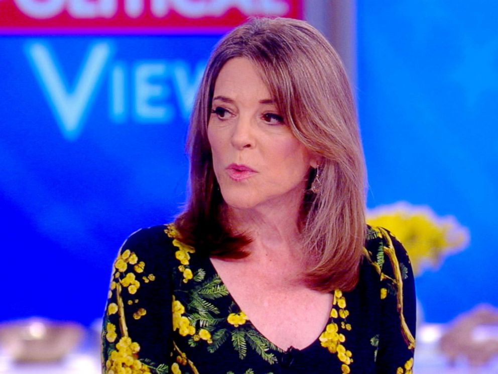 PHOTO: Marianne Williamson appears on The View, June 20, 2019.