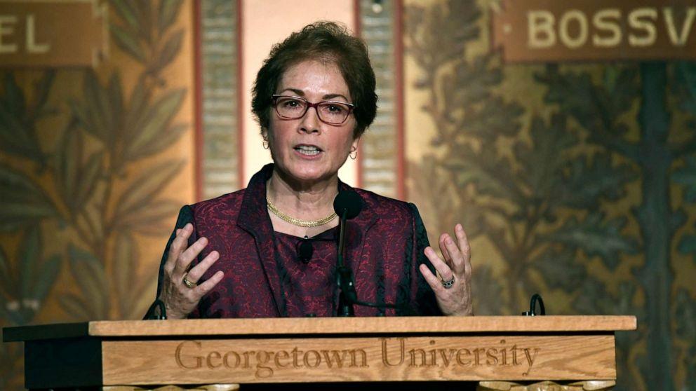 Der ehemalige Botschafter Marie Yovanovitch, sagt State Department in Schwierigkeiten