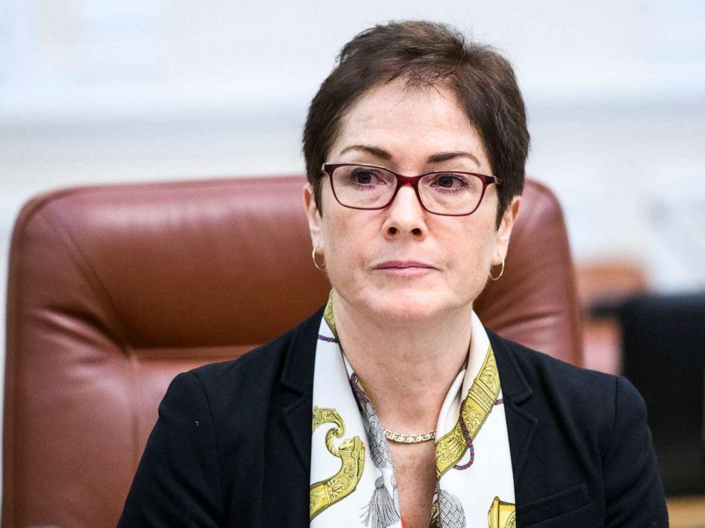 PHOTO: U.S. Ambassador to Ukraine Marie Yovanovitch during a meeting with Prime Minister of Ukraine Volodymyr Groysman Kyiv, Ukraine, Nov. 12, 2018.