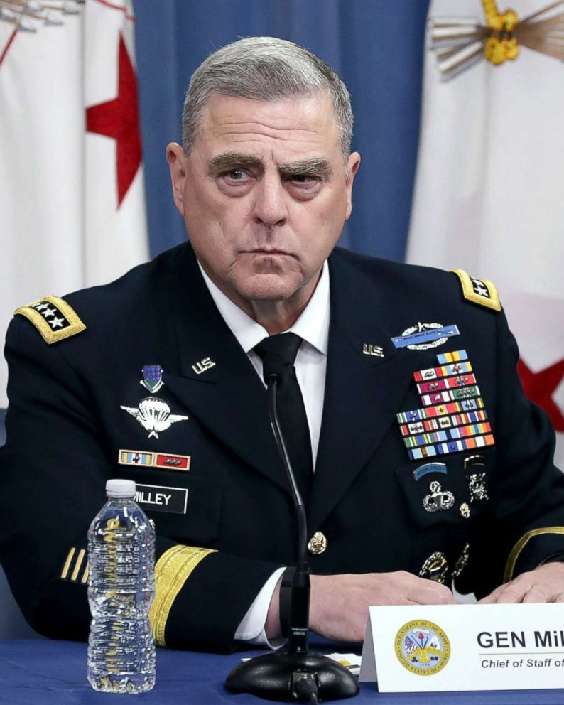 Trump nominates Army Gen. Mark Milley as next chairman of the Joint Chiefs of Staff - ABC News