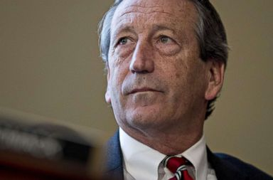 PHOTO: File photo of Rep. Mark Sanford, Republican from South Carolina, at a House Budget Committee markup hearing in Washington, D.C., on Thursday, March 16, 2017.
