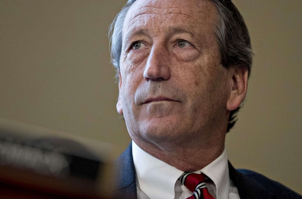 File photo of Rep. Mark Sanford, Republican from South Carolina, at a House Budget Committee markup hearing in Washington, D.C., on Thursday, March 16, 2017.
