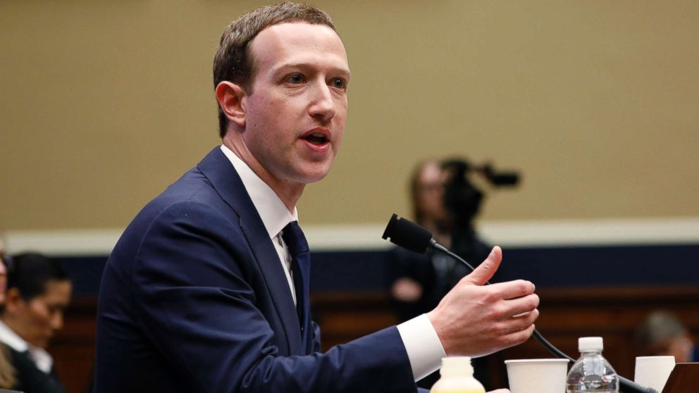 Facebook CEO Mark Zuckerberg testifies before a House Energy and Commerce Committee hearing regarding the company's use and protection of user data on Capitol Hill in Washington, D.C., April 11, 2018.