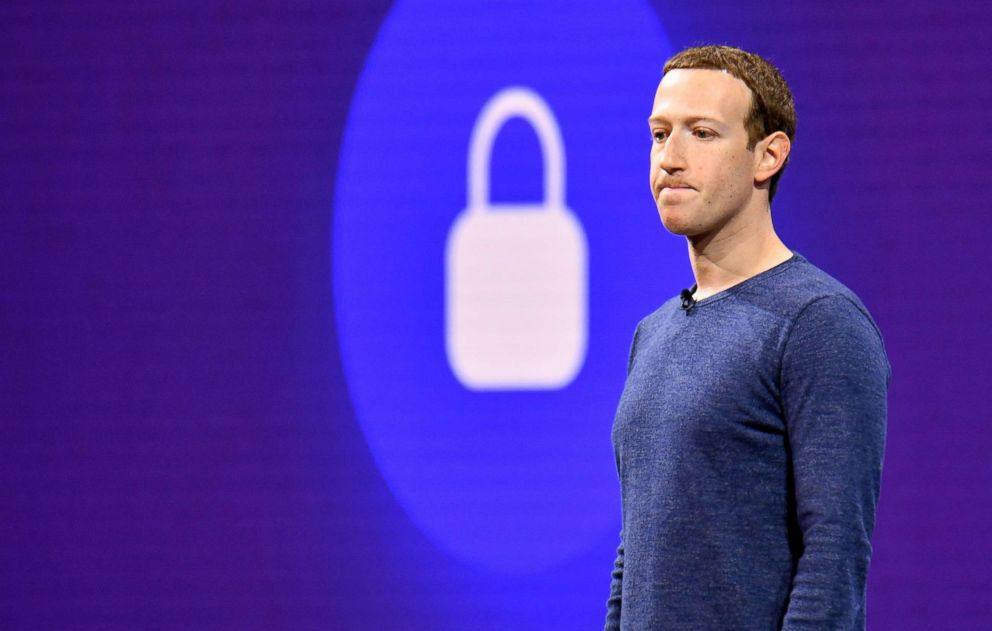 Facebook CEO Mark Zuckerberg speaks during the annual F8 summit at the San Jose McEnery Convention Center in San Jose, Calif.