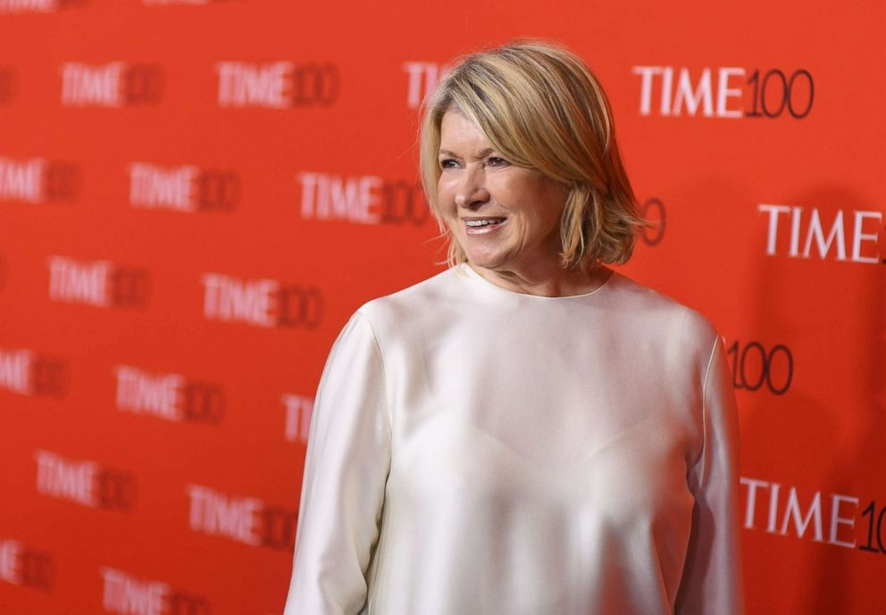 PHOTO: In this file photo taken on April 24, 2018, Martha Stewart attends the TIME 100 Gala celebrating its annual list of the 100 Most Influential People In The World.