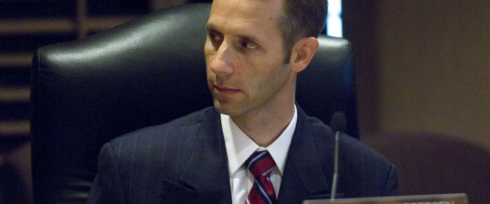 PHOTO: In this July 10, 2008 file photo, Commissioner Matthew Spencer Petersen is in a meeting of the Federal Election Commission to elect a chairman and vice chairman.