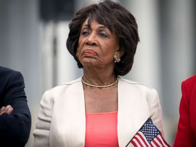 PHOTO: Rep. Maxine Waters attends a news conference where House Democrats called for an end to separating immigrant families, on the steps of the U.S. Capitol in Washington, June 20, 2018.