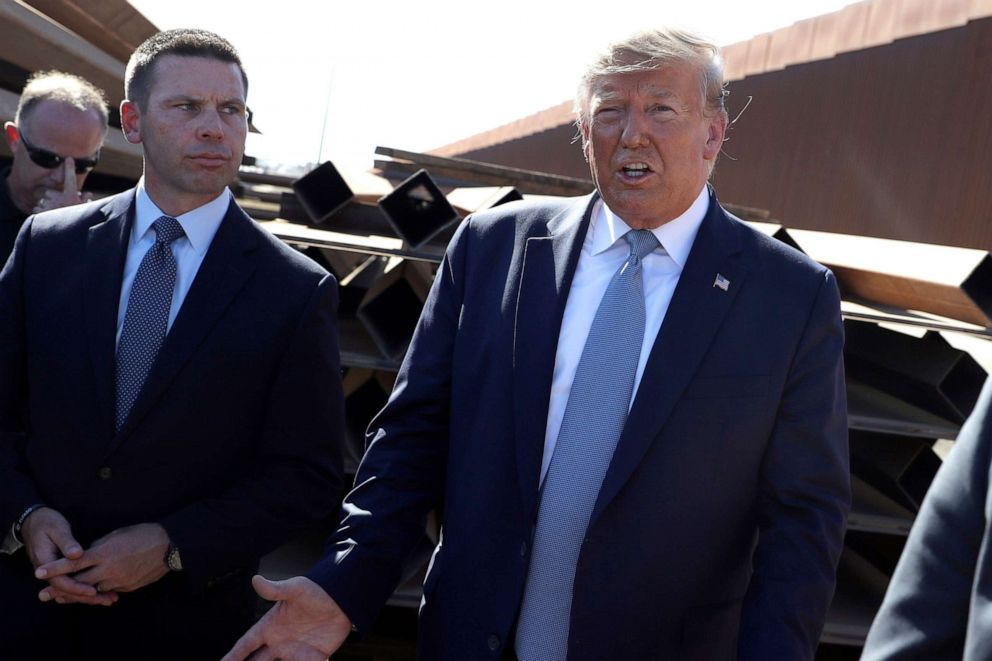 Trump says acting Homeland Security Secretary McAleenan is stepping down