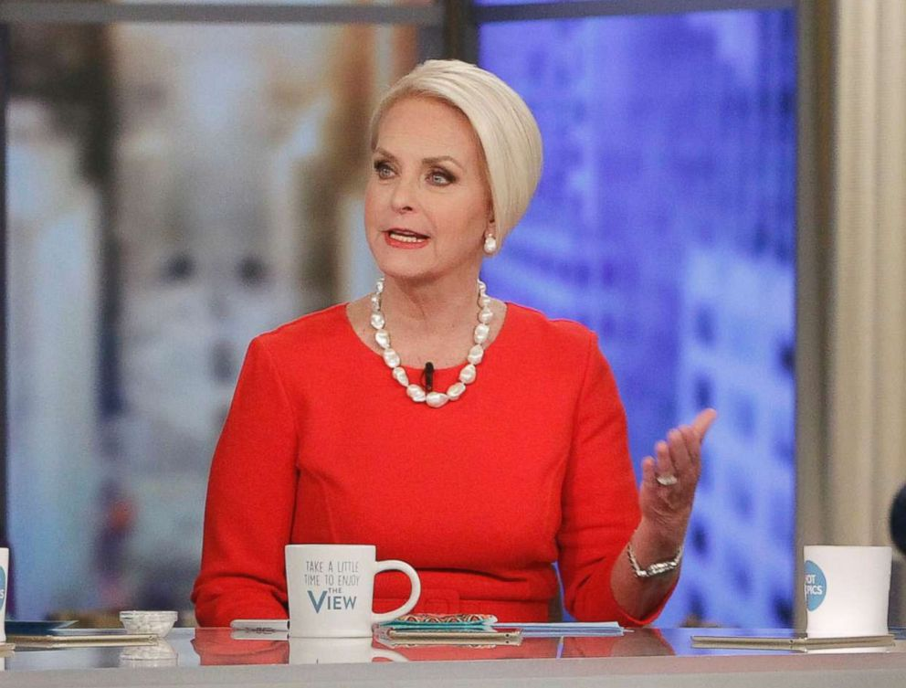PHOTO: Cindy McCain, during her appearance on ABCs The View,February 28, 2018.