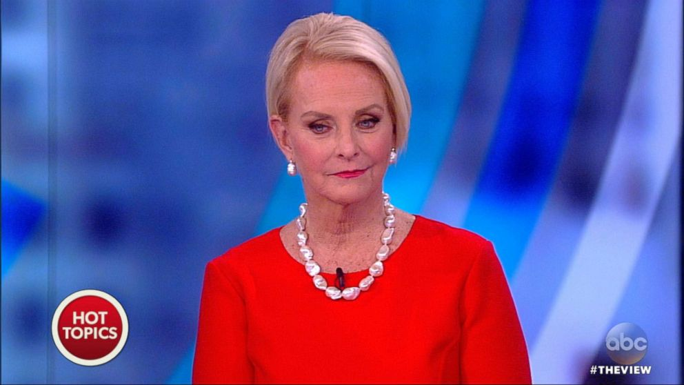Meghan Mccain Calls Trump S Veiled Jab At Her Father Incredibly Hurtful Abc News