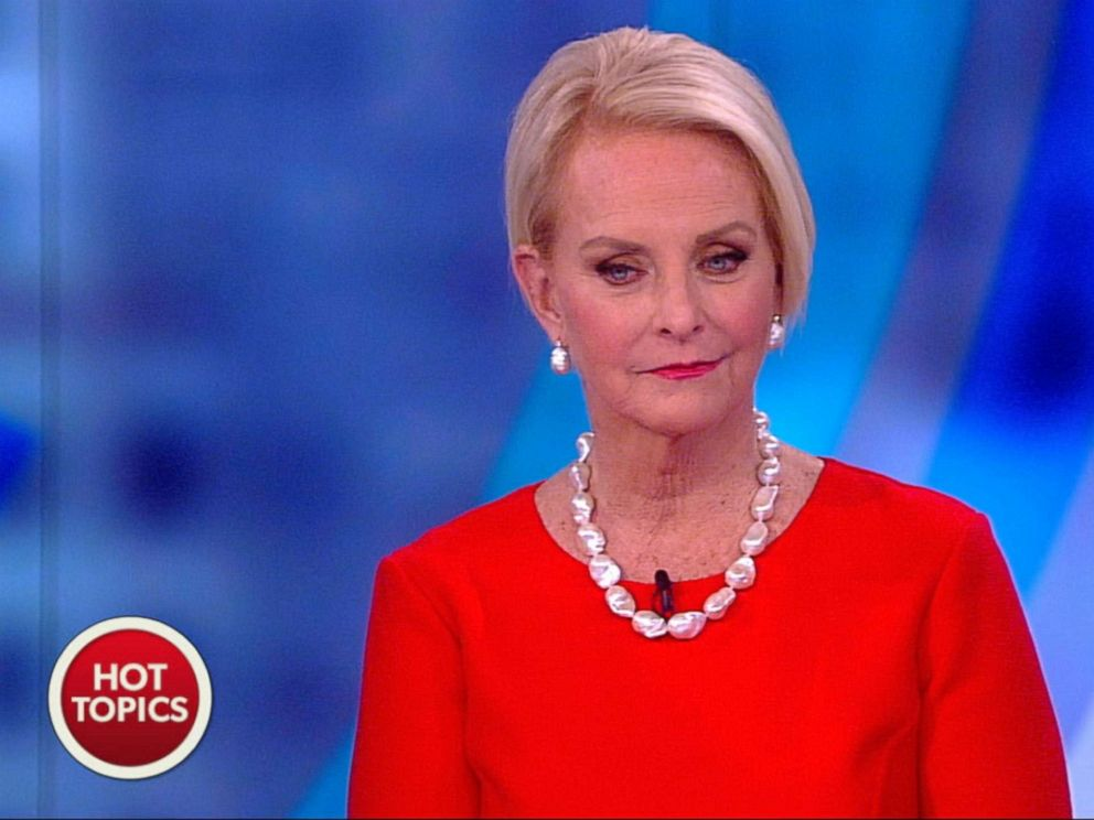 PHOTO: Cindy McCain appears on The View, Feb. 28, 2018.