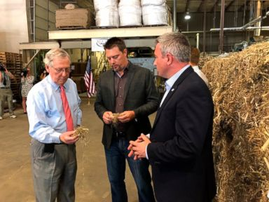 Unlikely ally, Sen. Mitch McConnell, pushes for farm bill that legalizes hemp | ABC News