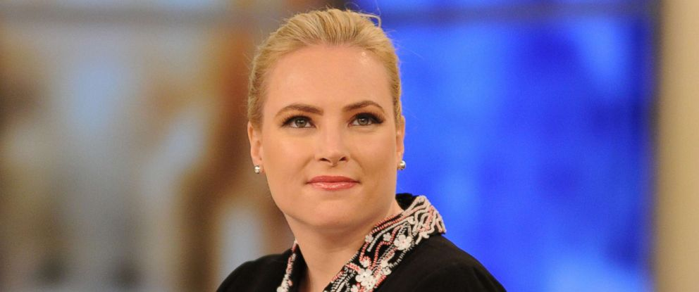 "PHOTO: Meghan McCain appears on ABCs ""The View,"" May 1, 2018."