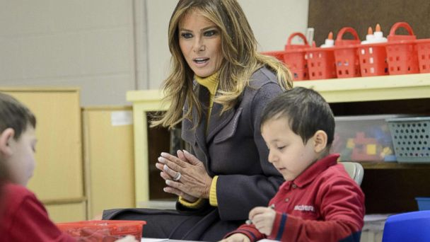 First lady Melania Trump embarks on three state tour promoting 'Be Best' platform