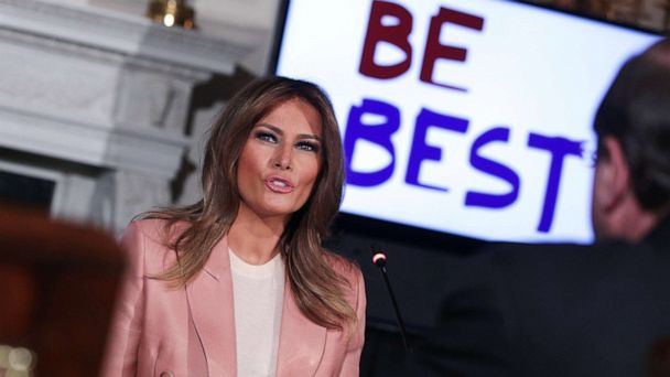 A year later, Melania Trump's 'Be Best' initiative highlights differences with president