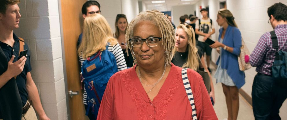 PHOTO: Melisande Colomb, 63, is majoring in African American Studies at Georgetown University and is photographed in Washington, DC, Aug. 30, 2017.