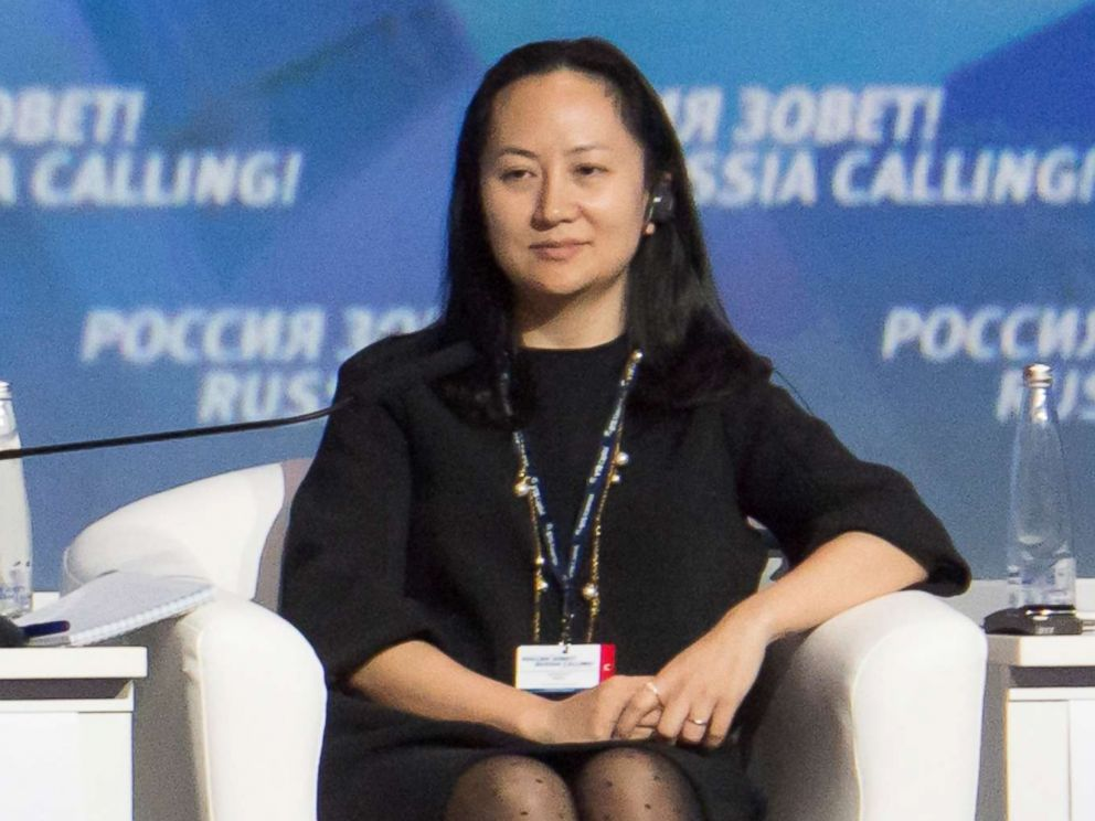 PHOTO: Meng Wanzhou, Executive Board Director of the Chinese technology giant Huawei, attends a session of the VTB Capital Investment Forum Russia Calling! in Moscow, Oct. 2, 2014.