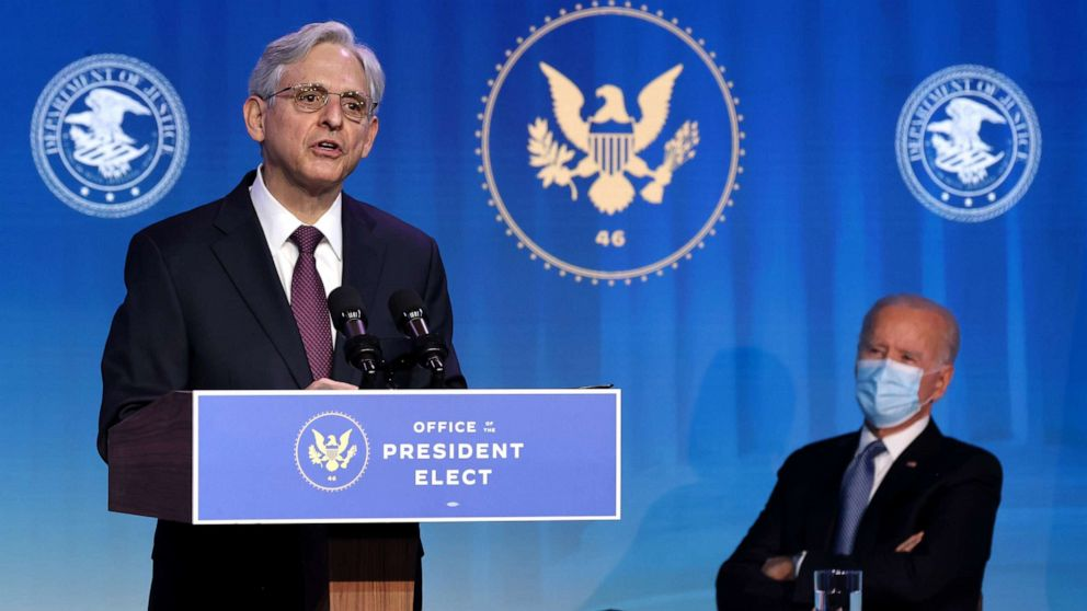 Merrick Garland to answer for Biden on key Trump questions ...