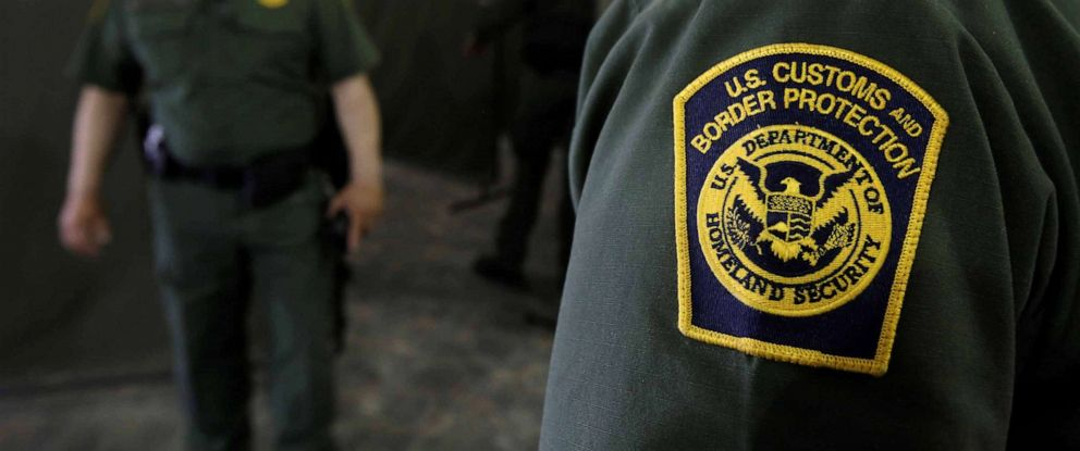 PHOTO: U.S. Border Patrol agents are seen during a tour of U.S. Customs and Border Protection (CBP) temporary holding facilities in El Paso, Texas, U.S., May 2, 2019.